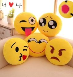 Pack of 5 Elegant Decorative Emoji Cushions, Smile Wallpaper, Emoji Wallpaper, Disney Wallpaper, Emoji Love, Cute Emoji, Emoji Pics, Emoji Pictures, Pics For Dp, Cute Cartoon Wallpapers