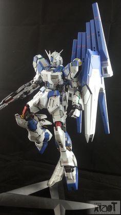 GUNDAM GUY: MG 1/100 RX-93-2 Hi-Nu Gundam Ver. Ka. - Customized Build