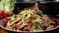 Spicy beef salad by Gordon Ramsay