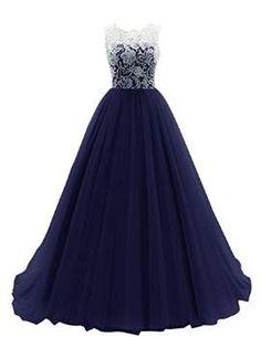 Dresstells Damen Ballkleid Lang Tüll Hochzeitskleid DTH90037 Grape Größe 36