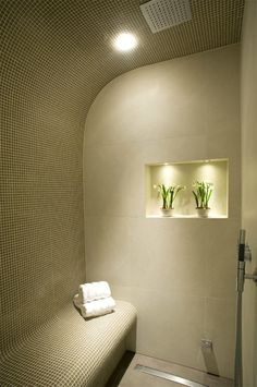Steam Room Design Ideas, Pictures, Remodel, and Decor - page 15 Steam Room Shower, Steam Shower Cabin, Sauna Steam Room, Sauna Room, Steam Bath, Master Bathroom Shower, Spa Shower, Steam Showers Bathroom, Modern Bathroom