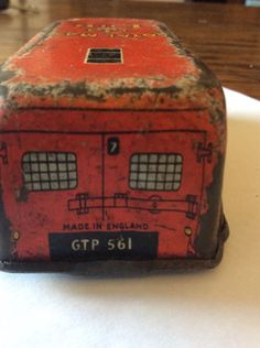 Old Tinplate Post Office Delivery Van A/F Dinkey ? | eBay