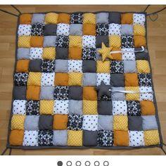 tapis de jeu bebe en patchwork
