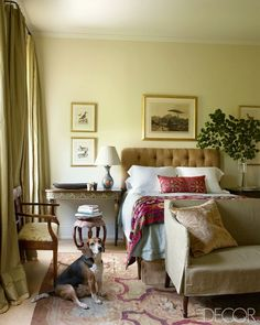 Design Dilemma: We Have Different Decorating Styles. Help! - laurel home   gorgeous bedroom by Julia Reed House