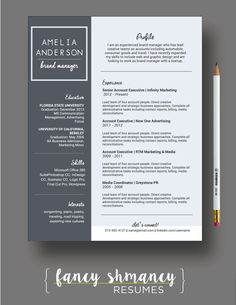 Professional Nurse Resume Template  Multipurpose Cv Template
