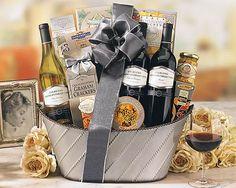 129 Best Wine Gift Baskets Images