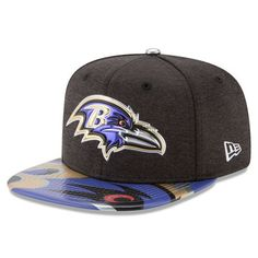d3ea3ada5 Baltimore Ravens New Era Youth 2017 NFL Draft On Stage Original Fit 9FIFTY  Snapback Adjustable Hat - Black