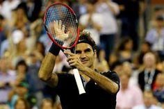 US OPEN - Roger Federer attacca e corre veloce nei quarti di finale