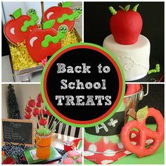 Treats & Sweets for Back-to-School