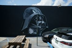 Darth Vader at Wynwood Miami