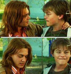Johnny Depp and Leonardo Dicaprio  -What's Eating Gilbert Grape .