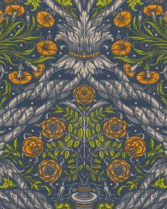FLORAL ORNAMENT Wallpaper Luxury Wallpaper, Modern Wallpaper, Designer Wallpaper, Of Wallpaper, Pattern Wallpaper, Wallpaper Designs, Draw Show, Mind The Gap, Wallpaper Samples