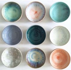 Studio Arhoj_ceramic glazed bowls_Remodelista_current_obsessions - Home Decoration - Interior Design Ideas Ceramic Bowls, Ceramic Pottery, Ceramic Art, Stoneware, Ceramic Studio, Pottery Bowls, Glazed Ceramic, Ceramic Workshop, Earthenware Clay