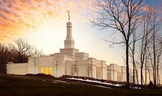 Palmyra New York Temple of The Church of Jesus Christ of Latter-day Saints. #LDS #Mormon