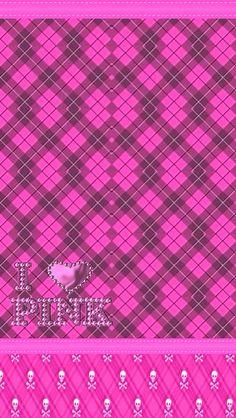 I love Pink Pink Nation Wallpaper, Pink Wallpaper Girly, Unicornios Wallpaper, Pink Wallpaper Iphone, Heart Wallpaper, Golden Wallpaper, Beautiful Wallpaper, Pink Iphone, Hot Pink
