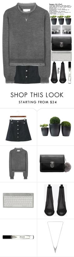 """""""- ̀ ̗i  in you ̖́-"""" by alienbabs ❤ liked on Polyvore featuring Maison Margiela, Yves Saint Laurent, Bobbi Brown Cosmetics, women's clothing, women's fashion, women, female, woman, misses and juniors"""