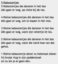 juf Ingrid groep 1/2 :: ingridheersink.yurls.net: Learn Dutch, Rhymes For Kids, Yoga For Kids, Kids Songs, Early Learning, Storytelling, Wise Words, Drama, Poems