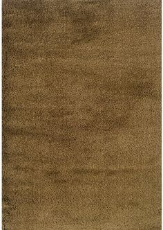 Style Haven Indoor Gold Shag Area Rug 9 10 X