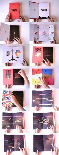 Libro objeto Reservoir Dogs by Nadia Grosso, via Behance