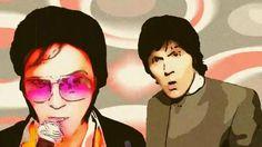 "ELVIS PRESLEY and PAUL McCARTNEY  Vs JXL ""A Little Less Conversation"" A Little Less Conversation, King Elvis Presley, Creative Video, Paul Mccartney, Good Music, Ear, Artist, Artists"