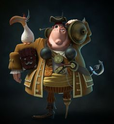 24 Beautiful 3D Character Designs and Illustrations