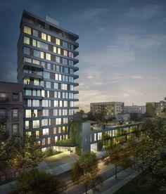 Architect:  ODA Architecture (http://www.oda-architecture.com).  Take a preliminary gander at 190-196 South First in Williamsburg - BuzzBuzzHome News