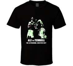 Muhammed Ali vs Ernie Terrell classic fight what's my name boxing t-shirt