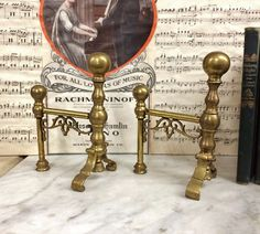 TREASURE HUNTER ‏@LisaSierra1000  now ??? they called FIRE DOGS? #AnTIQUE FEDERAL BaLL TOP BrASS FiRE DoGS #FiREPLACE #ANDIRONS, https://www.etsy.com/listing/484420650 … #mytesoros $175.00.