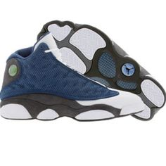 0c678ba2fa3c Air Jordan 13 XIII Retro (french blue   university blue   flint grey   white