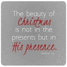 Focus on the real meaning of Christmas. {Read the rest of the article here....} ~ Club31Women