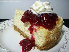 Cranberry Cheesecake #cheesecakes, #food, #delicious, https://apps.facebook.com/yangutu