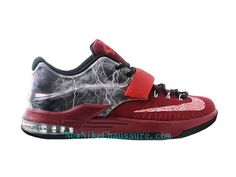 detailed look 8c8bf 62ff1 Nike KD 7 iD - Chaussure De Basket-ball pour Homme Pas Cher Rouge