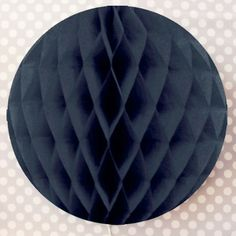 For DIY Geronimo Balloon. To be used with Red balloon topper. Tissue Pouf: Black
