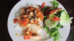 Mediterranean fish (John's recipe)