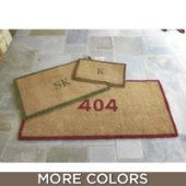 Where to buy entryway rugs? Find the perfect entryway rugs for your space and style with Ballard Designs. Shop door mats, entry rugs, front door mats and more! Cheap Doors, Front Door Mats, Custom Stencils, Personalized Door Mats, Coir, Ballard Designs, Rustic Rugs, Door Design, Initials