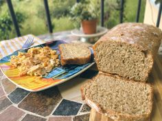 No knead 4 ingredients whole wheat bread