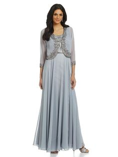 Mother Of The Bride Light Blue Dress With Jacket 318 00 At Eleventhdress