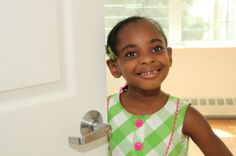 Meet Shontaysiah, a child of one of new Habitat-NYC homeowners who was part of ribbon cutting ceremony at our most recent homes on Hart Street and on Lafayette Avenue.  Your kids can welcome you home... BECOME A HOMEOWNER!