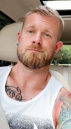 Beard Head, Red Guy, Gorgeous Men, Beautiful Guys, Sexy Men, Hot Men, Beard Lover, Blonde Guys, Awesome Beards