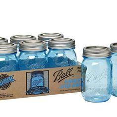 Brand New Vintage Blue Ball Jars