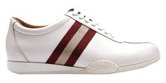 Bally - Scarpe - Sneaker Basse - 6169603WHITE New item, Bally! (265,50€) #new #fashion #cool #sneaker #bally #man #amazing #stripes