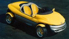 http://chicerman.com  carsthatnevermadeit:  Bertone Rush Concept 1992. A beach buggy-type prototype based on the Fiat Cinquecento  #cars