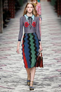 trend- wtf Gucci | Spring 2016 | Look 60