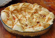 Portuguese Desserts, Portuguese Recipes, Magic Cake Recipes, Sweet Recipes, Easy Desserts, Dessert Recipes, Brazilian Dishes, Pavlova, Yummy Cakes