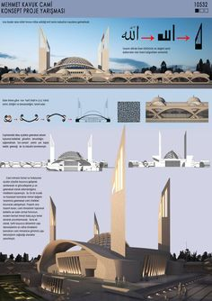 Marvelous Home Design Architectural Drawing Ideas. Spectacular Home Design Architectural Drawing Ideas. Architecture Design, Architecture Concept Diagram, Mosque Architecture, Architecture Presentation Board, Architecture Panel, Religious Architecture, Futuristic Architecture, Architecture Sketches, Architecture Wallpaper