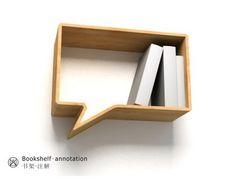 Comic Shelves by Oscar Nunez for Fusca Design (via Fresh Home), vs… … Bookshelf Annotation by Lau Design (via Inspire Me Now).