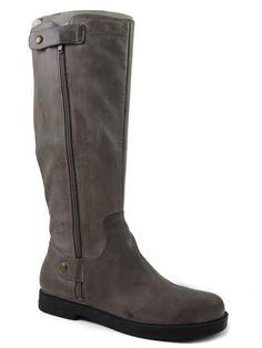 Easy Spirit Women's Marlenne Knee-High Boot Medium Gray Leather 6.5 M #EasySpirit #RidingEquestrian