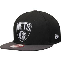 newest a9069 b2fce Mens Brooklyn Nets New Era Black Graphite 9FIFTY Snapback Adjustable Hat,  Sale   23.99