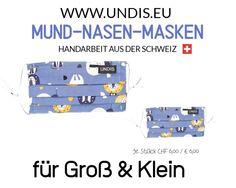Bei UNDIS www.undis.eu gibt es jetzt auch MUND-NASEN-MASKEN im Partnerlook für Erwachsene und Kinder. Je Stück CHF 6,00 / € 6,00 (Versandkosten sind im Preis inkludiert) #undis #maskeauf #behelfsmaske #mundnasenmaske #mundmaske #gesichtsmaske #nähen #kreativ #bunt #maske #corona #virus #maske #mundnasenschutz #deutschland #schweiz #österreich #maske #kinder #eltern #diy #partnerlook #bunt #gesundheit #mundnasemaske Euro, Shopping, Men's Boxers, Men's Boxer Briefs, Funny Mouth, Masks, Parents, Simple