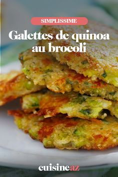 Broccoli quinoa patties - Tired of potato or zucchini patties? A delicious recipe for quinoa and broccoli pancakes awaits you - Healthy Recipes On A Budget, Easy Smoothie Recipes, Healthy Breakfast Recipes, Budget Meals, Crockpot Recipes, Soup Recipes, Vegan Recipes, Dinner Recipes, Chicken Recipes